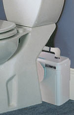Toilette ohne abwasserkanal