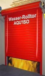 deutscher brandschutzpreis 2006 f r feuerschutztor t30 aquiso roll mit wasser gef lltes. Black Bedroom Furniture Sets. Home Design Ideas