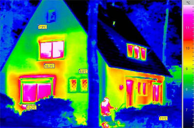 Thermografie, Wärmebrücken, Gebäude-Thermografie, Oberflächentemperaturen, Wärmelecks, Thermografieaufnahme, Wärmeleck, Energielecks, Oberflächentemperatur, Thermograf, Thermografen, Wärmebildkamera, Gebäudesanierung, Sanierungsplanung, Altbau, Bestandsaufnahme, Wärmebild, Wasserschäden, Feuchteschäden