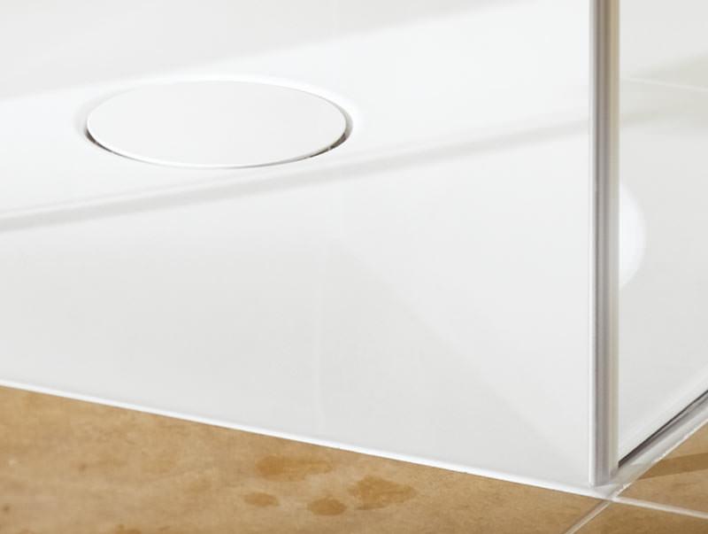 abfluss dusche eben raum und m beldesign inspiration. Black Bedroom Furniture Sets. Home Design Ideas
