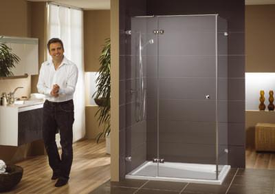 echtglas duschw nde und das weg vom standard. Black Bedroom Furniture Sets. Home Design Ideas