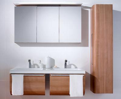 Waschplatz, Bad, Wohnbad, Einzelwaschplatz, Badeinrichtung, Badezimmer, Einzelwaschtisch, Waschtisch, Spiegel, Doppelwaschtisch, Schrankelemente