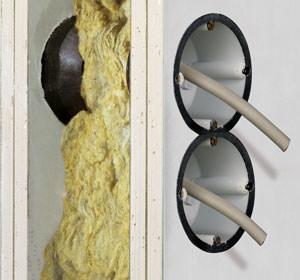 hohlwanddose f r brandschutzw nde f90 von kaiser. Black Bedroom Furniture Sets. Home Design Ideas