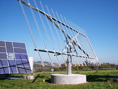 nachfuehrsystem fuer bis zu  grosse solarmodule