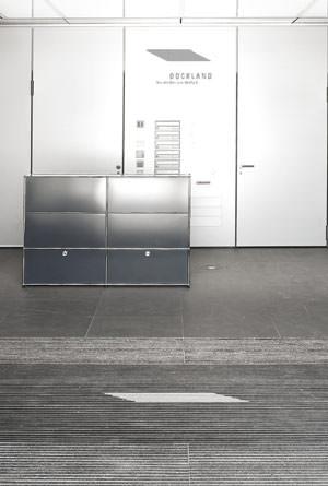 emco h lt das dockland b rohaus mit logo matten sauber. Black Bedroom Furniture Sets. Home Design Ideas