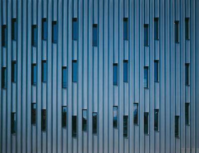 Gebäudehülle, Metallfassade, European Kalzip Student Award 2007, Fassadenpreis, Metallfassaden, Fassade, Metalldach
