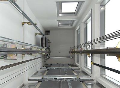 Aufzüge, EcoDisc-Antrieb, Maschinenraum, maschinenraumloser Aufzug, Aufzug, Hydraulikaufzug, Hydraulikaufzüge, Betriebskosten