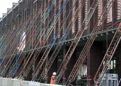 Ortbeton, Sichtbeton, Betonrezeptur, Hochofenzement, Sichtbetonqualität, Hüttenzement, Flugasche, Beton, Betonbau, Rohbau, Fundamente, Wände, Decken, Stützen