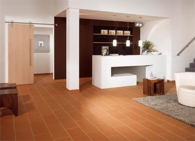 trockener estrichziegel statt nassem zementestrich stranggepresste tonziegel als trockenestrich. Black Bedroom Furniture Sets. Home Design Ideas