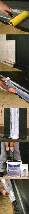 Bauwerksabdichtung, ARDEX Bitumen, Bauchemie, Schutz der Bausubstanz, Bitumensystem, kunststoffmodifizierte Bitumendickbeschichtung, Dichtanstriche, Fugenabdichtbänder, Schutzanstrich aus Bitumen, Kaltselbstklebebahn