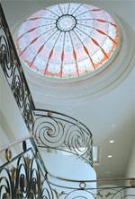 Kunstglas, Dekorglas, Bleiglas, Glasdesign, Tiffany-Glas, Stained Glass Overlay, buntes Glas, farbiges Glas, Glasfolie, Glasfolien, Glas, Flachglas, Tiffany-Glas-Effekt, Sicherheitsglas, Isolierglas