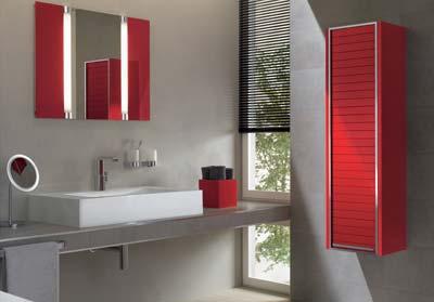 rot wei badezimmer einrichtung fliesen modern pictures to pin on pinterest. Black Bedroom Furniture Sets. Home Design Ideas