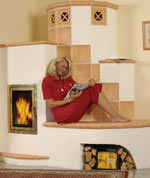 kachel und kamin fen erzeugen angenehme strahlungsw rme. Black Bedroom Furniture Sets. Home Design Ideas