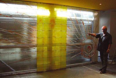 Glaskunst, Glasmalerei, Fusing, Fusen, Kunstwerke, Glasfusing, Glasdesign, Glasobjekte, Glaskünstler, Kunst am Bau, Werkstoff Glas, Glaskunstobjekt, Glasverschmelzung, Chromatische Glasobjekte, Fusing-Öfen