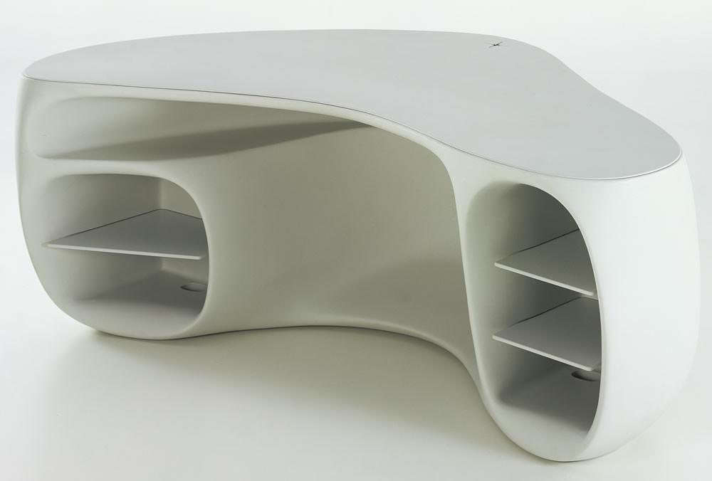 Schreibtischplatte  BaObab - Star(c)k von Vitra | Schreibtisch aus Polyethylen von ...