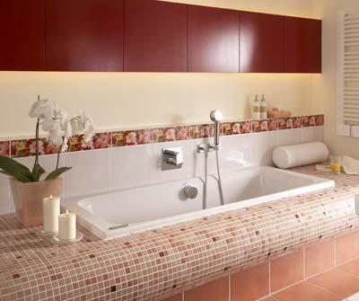 wedi-Bauplatte, Wellnessanlage, öffentliche Sanitärräume, Rundungs-Bauplatte, privates Bad