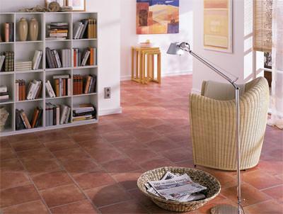 t uschend laminatboden in fliesenoptik. Black Bedroom Furniture Sets. Home Design Ideas