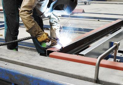 Baustellencontainer, Baustelleneinrichtung, Baustelle, Baustellenbüro, Baustellen-Infrastruktur