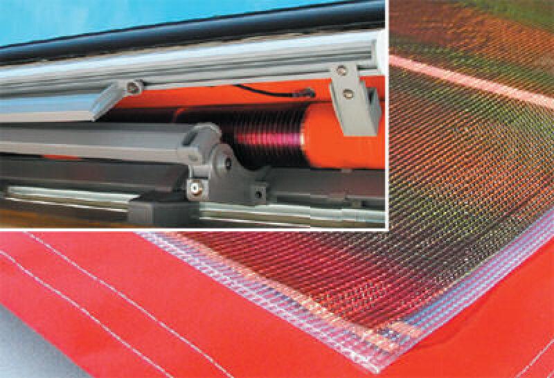 Photovoltaik, Solarstrom, Solar-Markise, Solarmarkise, Markise, Markisen, Sonnenenergie, rollbare Solarzellen, Solarzelle, textiler Sonnenschutz, Solar-Markisen, Solarmarkisen, textile Sonnenschutzsysteme, Solartechnologie