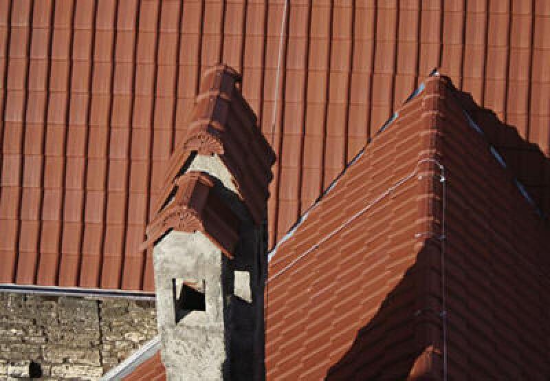Großflächenziegel, Pfleiderer Dachziegel, Tondachziegel, Dachziegel, Umdeckung, Flachdachpfanne, Sanierung