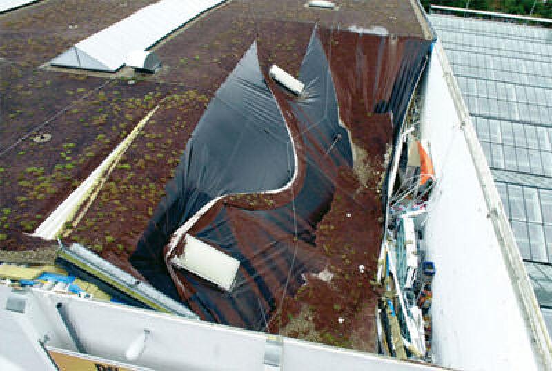 Dachabdichtung, Dachdurchdringungen, Flachdach