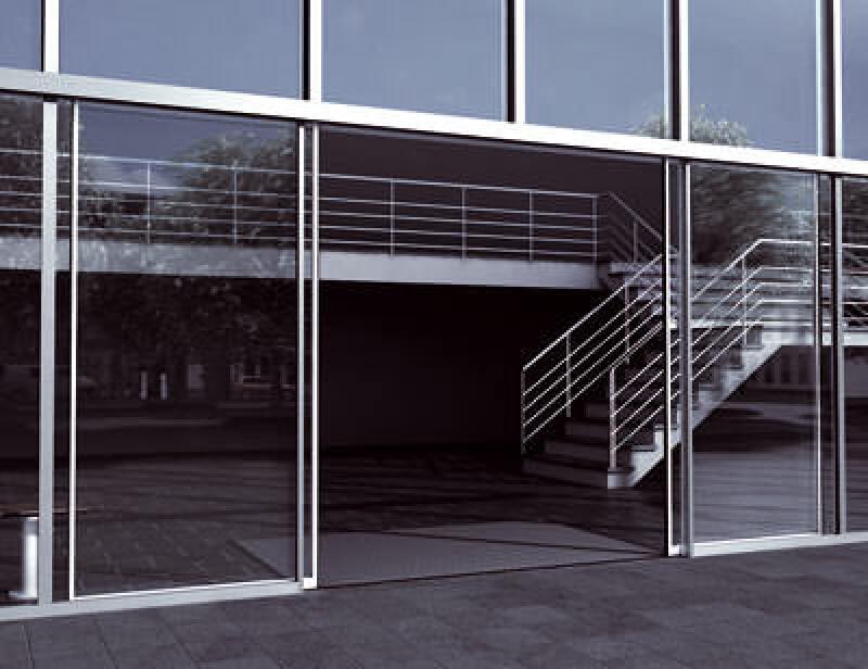 Schiebetür, Automatiktür, Automatiktüren, Türanlage, Türanlagen, Eingangsbereich, Schiebetüren, Fassadengestaltung