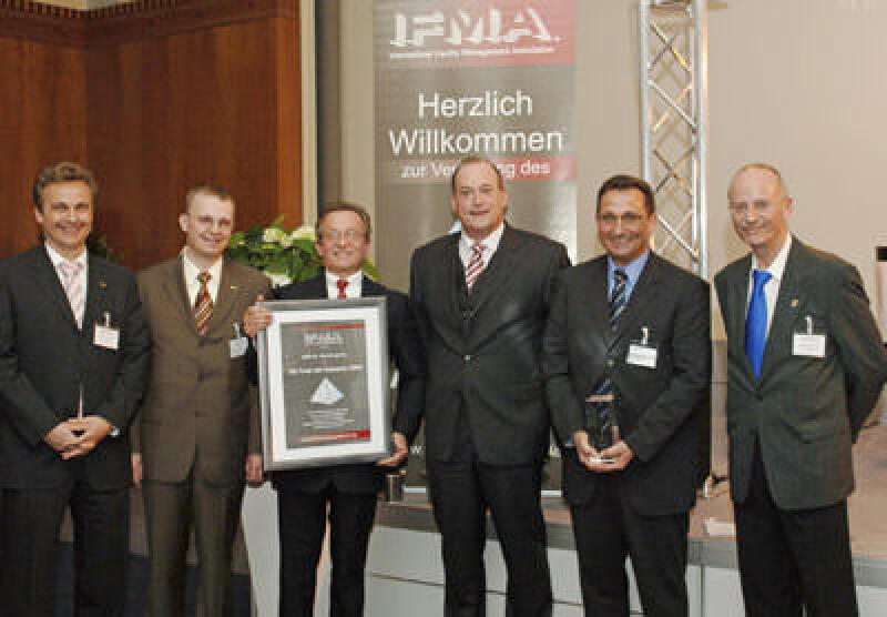 Facility Management, IFMA Award, Serviceverträge, mobiles Maintenance, Handheld-PC, PDA, Kostensenkung, CAFM, IFMA Deutschland, ERP System, SAP, Hannover Messe 2007