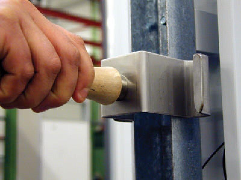 Stahlzarge einbauen  Montagehilfe erleichtert Einbau von Hörmann-Stahlzargen für ...