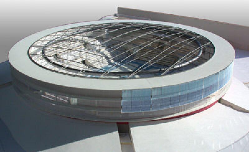 Solarhorizonte auf der BAU 2007