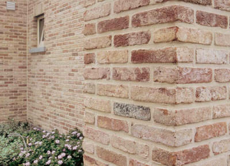 Vormauerziegel, Fassadengestaltung, Retro-Verblender, Handformziegel, Verblender, Ziegel, künstlich gealtert, Terca-Ziegel, künstliche Alterung