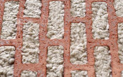 CorIso-Ziegel, mit Dämmstoff gefüllter Mauerziegel, unipor-Ziegel, Mauerziegel, Mineral-Granulat, Mineral-Granulate, Wärmedämmung, Schallschutz, Mauerwerksbau, Unipor-Ziegel-Gruppe, Lochbild, Lochgeometrie, Ziegel
