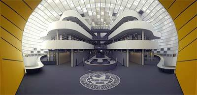 Architekturpreis Berlin 2006, Rostlaube der Freien Universität Berlin, Philologische Bibliothek, Sir Norman Foster, Bibliotheksarchitektur, Bibliothek
