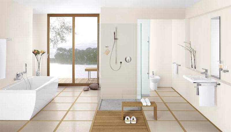 Japanische Architektur armaturenserie kidó beruft sich auf japanische architektur und lebensart