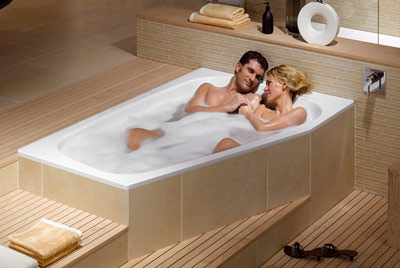 Wassersparende Badewanne Haustechnikdialog