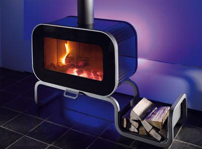 kaminofen mit ambilight dadoo von wodtke mit led beleuchtung. Black Bedroom Furniture Sets. Home Design Ideas