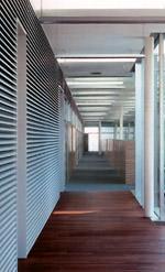 renson stellt lamellenwandsystem f r innen und au en vor. Black Bedroom Furniture Sets. Home Design Ideas