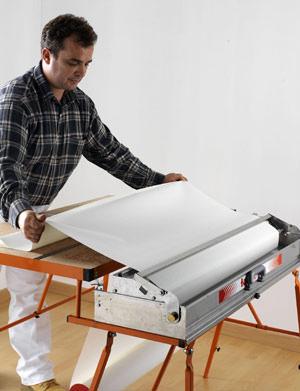 neue glasfasertapete vorgekleistert und vorgestrichen. Black Bedroom Furniture Sets. Home Design Ideas