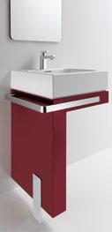 Esprit home bath concept 2007 von Kludi   quadratischer Waschtisch   {Badmöbel esprit 50}