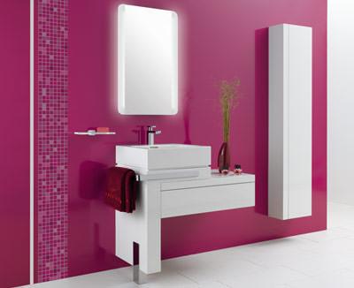 Badmöbel esprit  Esprit home bath concept 2007 von Kludi | quadratischer Waschtisch