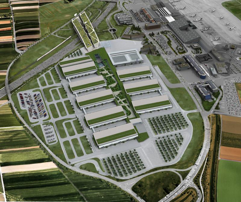 Architektur und technik der neuen messe stuttgart for Neue architektur stuttgart