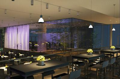 szenografisches licht in der gastronomie architekturlicht architekturbeleuchtung. Black Bedroom Furniture Sets. Home Design Ideas