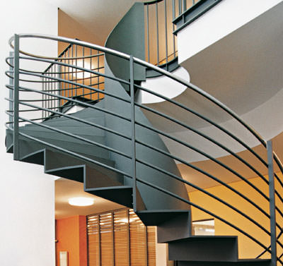 sthetik auf schritt und tritt treppen aus stahl. Black Bedroom Furniture Sets. Home Design Ideas