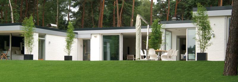 Hightech von heute f r 70er jahre bungalow vernetztes for Moderne bungalows mit viel glas
