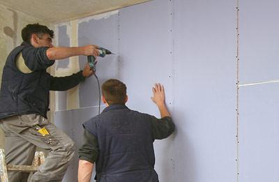 schallschutz verbessernde sanierung von wohnungs und haustrennw nden schalld mmung im. Black Bedroom Furniture Sets. Home Design Ideas