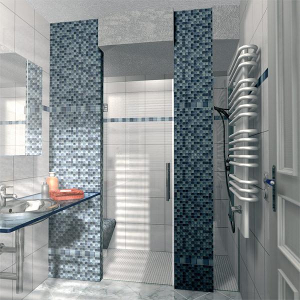 duschen als verfliesbare baus tze schneckendusche und runddusche. Black Bedroom Furniture Sets. Home Design Ideas