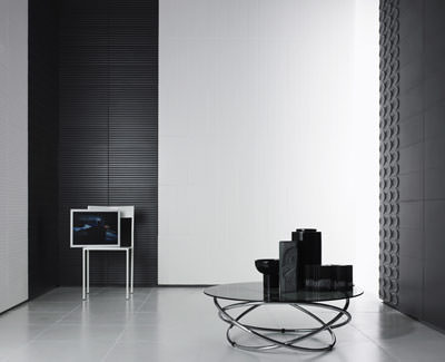 italienische wandfliesen wollen ins wohnzimmer. Black Bedroom Furniture Sets. Home Design Ideas