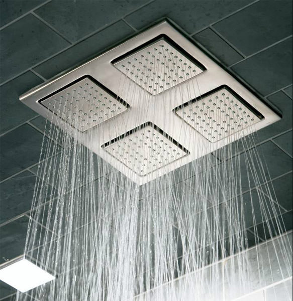Duschfliesen Wenn Das Wasser Direkt Aus Der Wand Kommt Seitenbrausen
