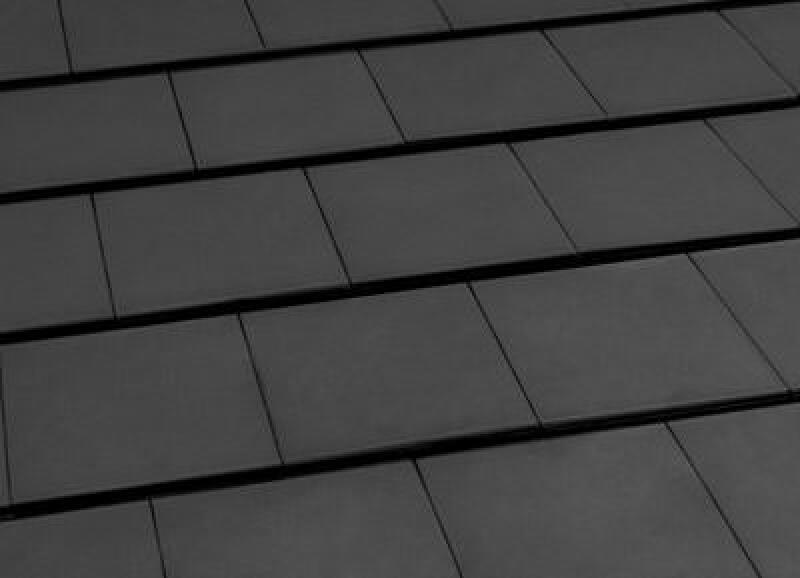 Dachziegel anthrazit  Laumans bringt aktuellen Groß-Glattziegel