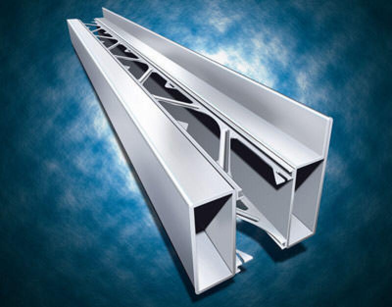 Stahlprofil, Fensterprofil, wärmegedämmte Stahlprofile, wärmegedämmtes Profil, Forster, Dämmeigenschaften, ohne Kunststoffisolatoren, Profilsystem aus Stahl, Metallbau