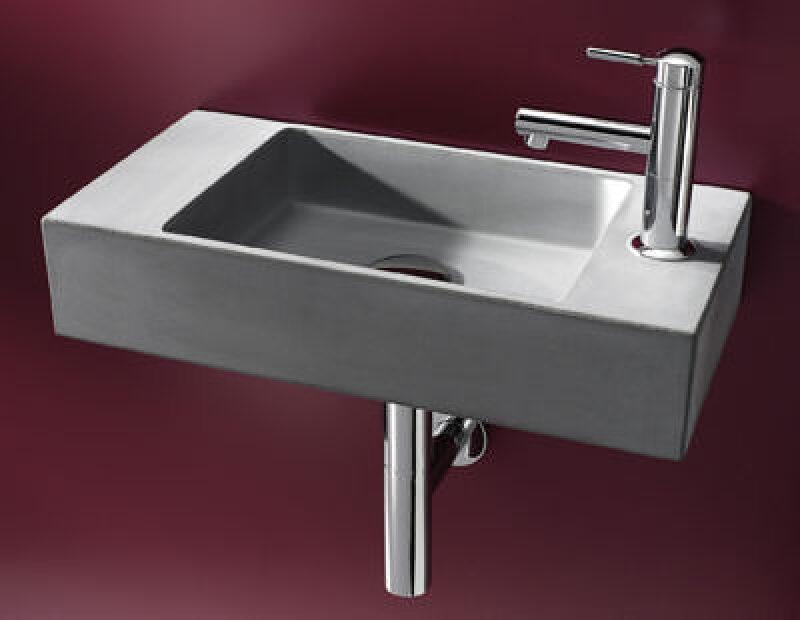 beton handwaschbecken f r 39 s g ste bad handwaschbecken. Black Bedroom Furniture Sets. Home Design Ideas